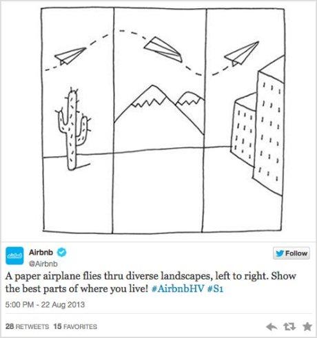Airbnb_Hollywood-and-Vines_tweet