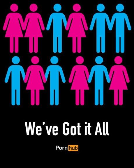 PornHub Campaign crowsourced advertising via Partecipactive Print ads