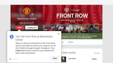 Manchester-United-Front-Row-Google+-crouwdsourced-fan-activism-call-to-action_via-partecipactive