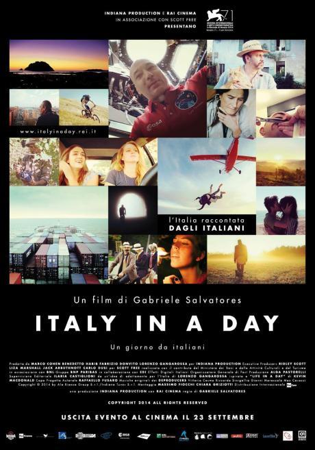 Italy in a day locandina via partecipactive
